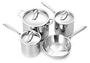 All-Clad D5 Brushed 18/10 Stainless Steel Cookware Set