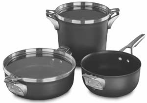 Calphalon Premier Space Saving Supper Club Cookware Set