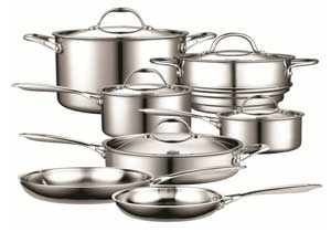 Cooks Standard Stainless Steel Cookware Set