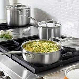 Cuisinart MCP-12N Multiclad Pro Stainless Steel Cookware