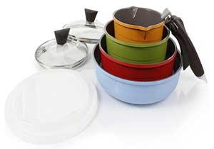 Neoflam Midas 9-piece Cookware Set