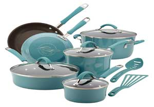 Rachael Ray Cucina Nonstick Cookware Pots and Pans Set