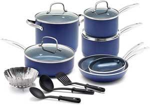 Blue Diamond Pan Cookware-Set