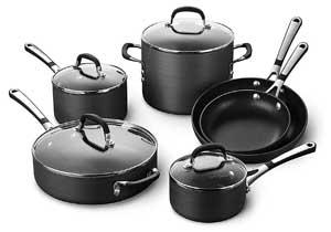 Calphalon Classic Pots And Pans Set, 10 Piece