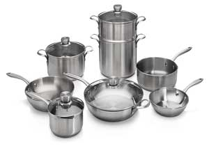 Frigidaire 11FFSPAN17 Ready Cook Induction Cookware