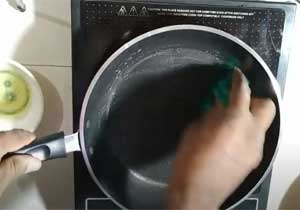Wash New Nonstick Cookware