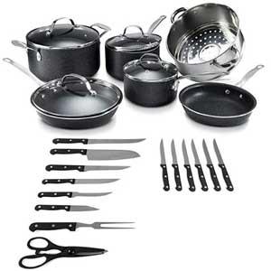 24 Piece Set Cookware Sets