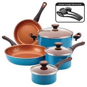Farberware 11 Piece Glide Cookware  Sets