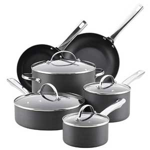 Farberware 14 pieces Hard Anodized Cookware Sets