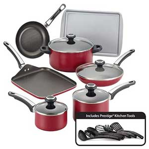 Farberware 17 Piece High Performance  Cookware  Sets