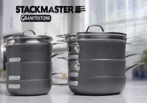 GRANITESTONE Stack Master 10 Piece