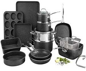 GraniteStone 20 Piece Complete Cookware