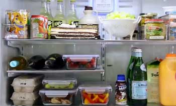 Maintenance Ideas of organizing  a fridge