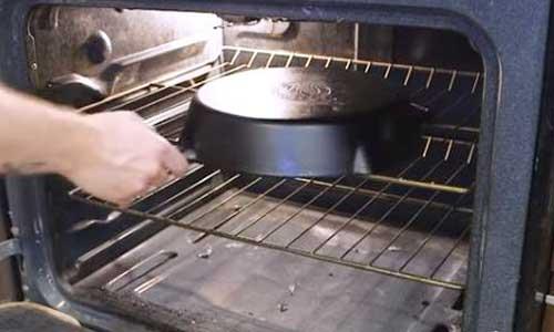 restore cast iron cookware