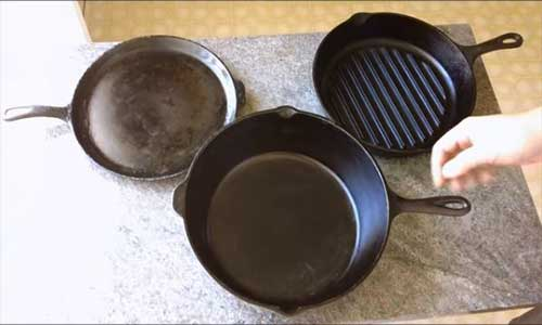 your cast iron cookware